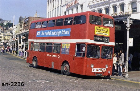 Devon General Atlantean 898DTT Torquay