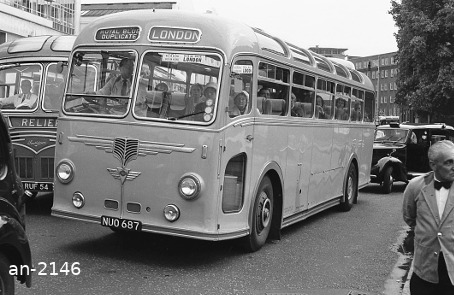 AEC Reliance NUO687 Greenslades