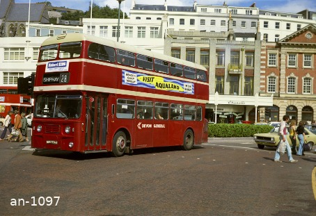 Devon General Atlantean NDV536G Torquay