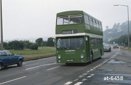 Western National Daimler Fleetline MHL491L Penzance Eastern Green