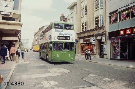 Devon General Atlantean 909DTT Exeter