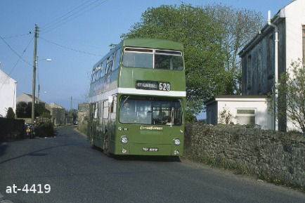 Western National Daimler Fleetline TGX838M Luxulyan