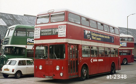 Devon General Atlantean 896DTT Paignton