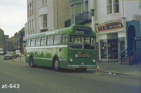 Western National Bristol LS5G TUO497 Weymouth