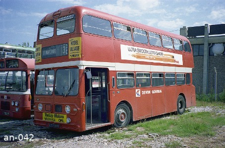 Devon General Atlantean NDV530G Torquay