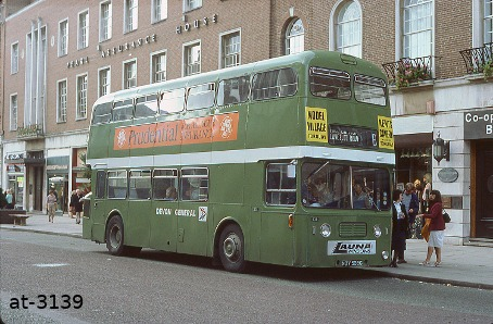 Devon General Atlantean NDV538G Exeter