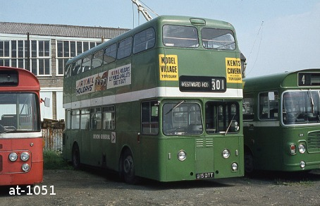Devon General Atlantean 915DTT Bideford