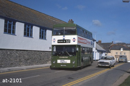 Western National Daimler Fleetline MLK672L