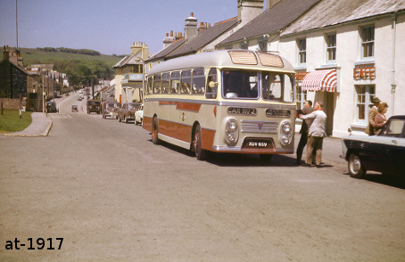 Grey Cars XDV859 AEC Reliance Princetown