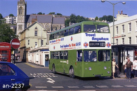 Devon General Atlantean 909DTT Torquay